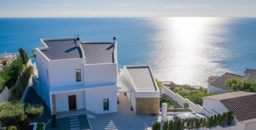 luxury villas in modern style Cumbre del Sol